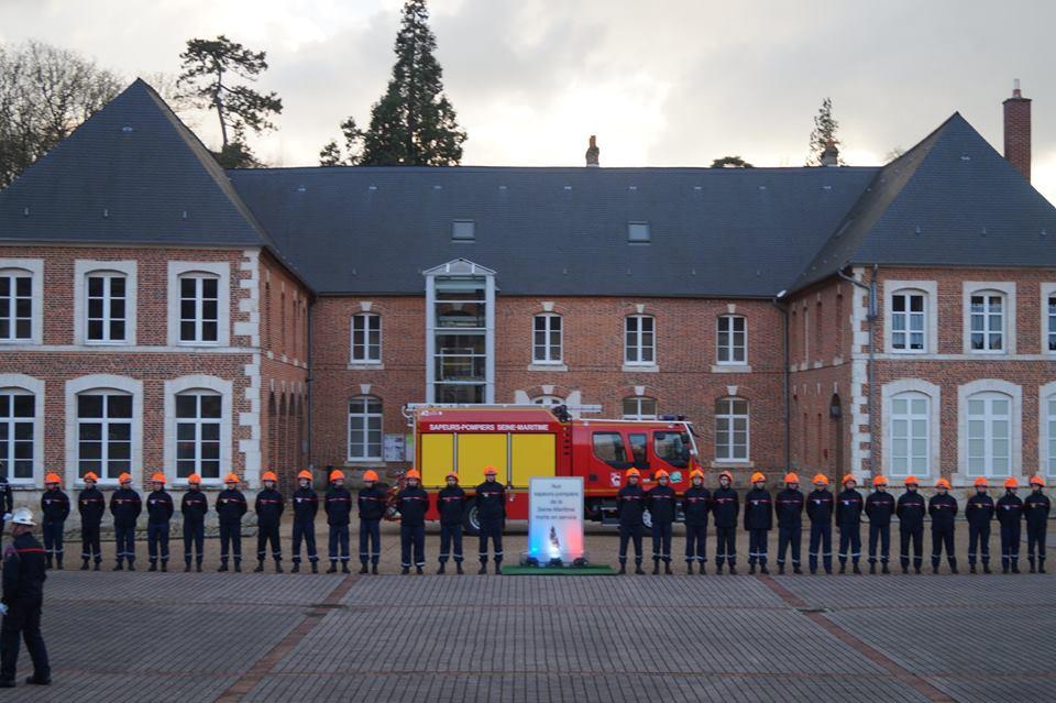 Passation De Commandement Et Sainte Barbe Au Centre Dincendie Secours Bolbec
